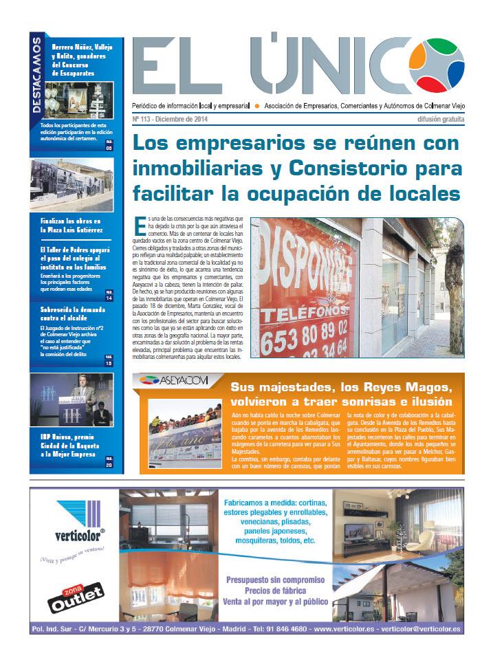 El Único. Diciembre 2014
