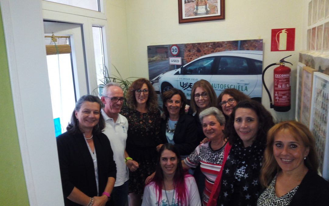 El 54 Encuentro de Empresarias de Colmenar Viejo se celebró en Autoescuela Used