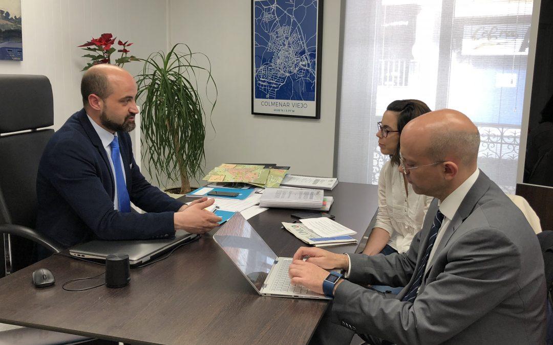 """Jorge García Díaz: """"Queremos un Polígono Sur moderno en el que se puedan asentar laboratorios y empresas logísticas"""""""