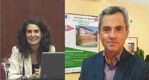 Carmen Gilabert y Laureano Cuevas
