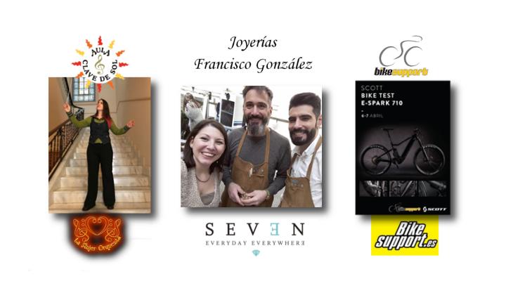 Empresas del mes de marzo: Verónica Arroyo, Joyería Francisco González y Bike Support