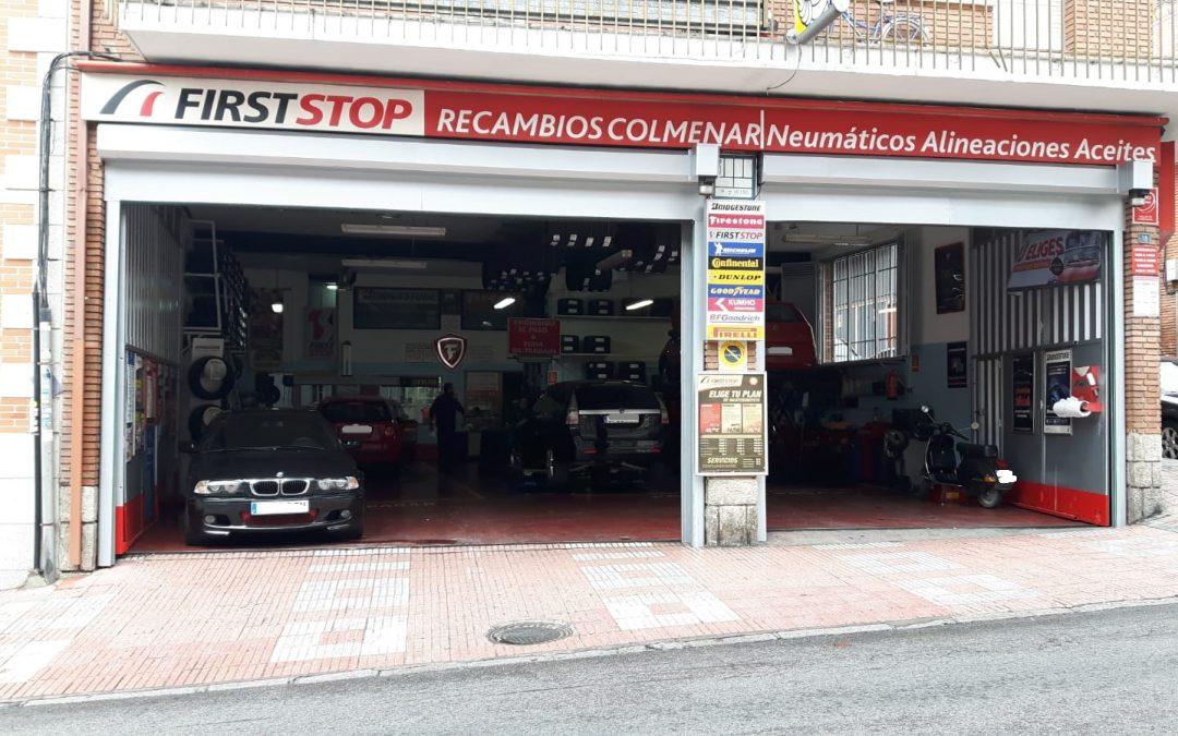 Oferta en neumáticos: hasta 100 € de regalo al comprar Bridgestone en Recambios Colmenar