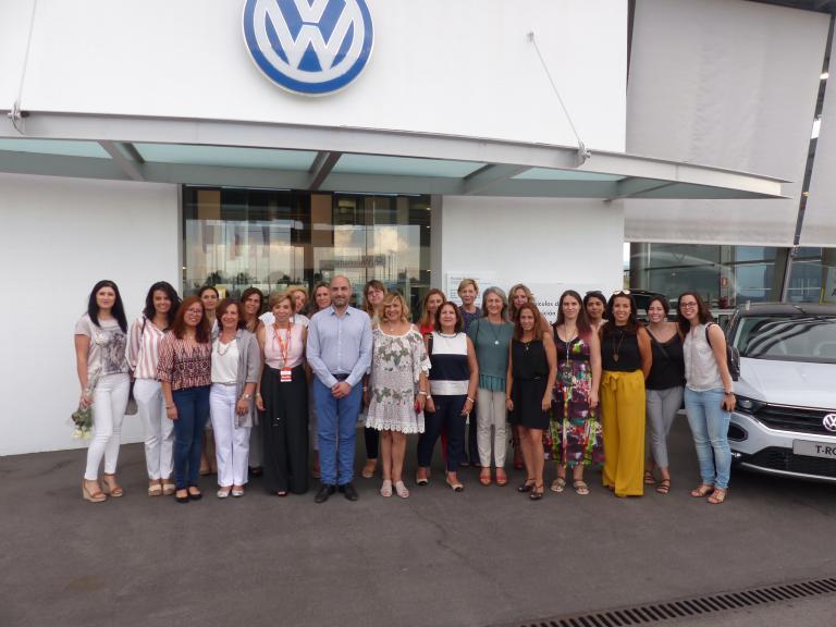 Aldauto Motor acogió el 62 Encuentro de Empresarias