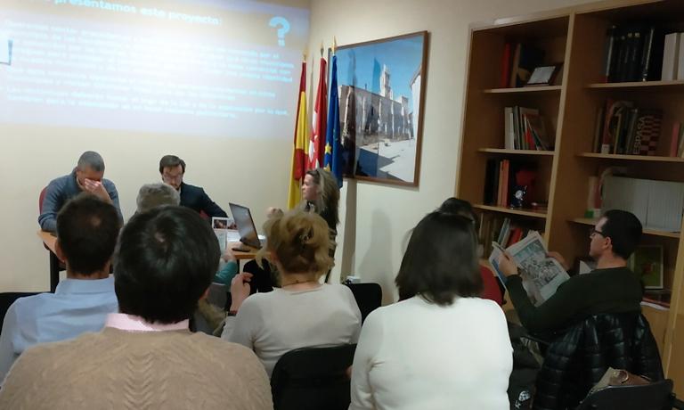 Reunión de Aseyacovi con la comisión de comercio zona centro