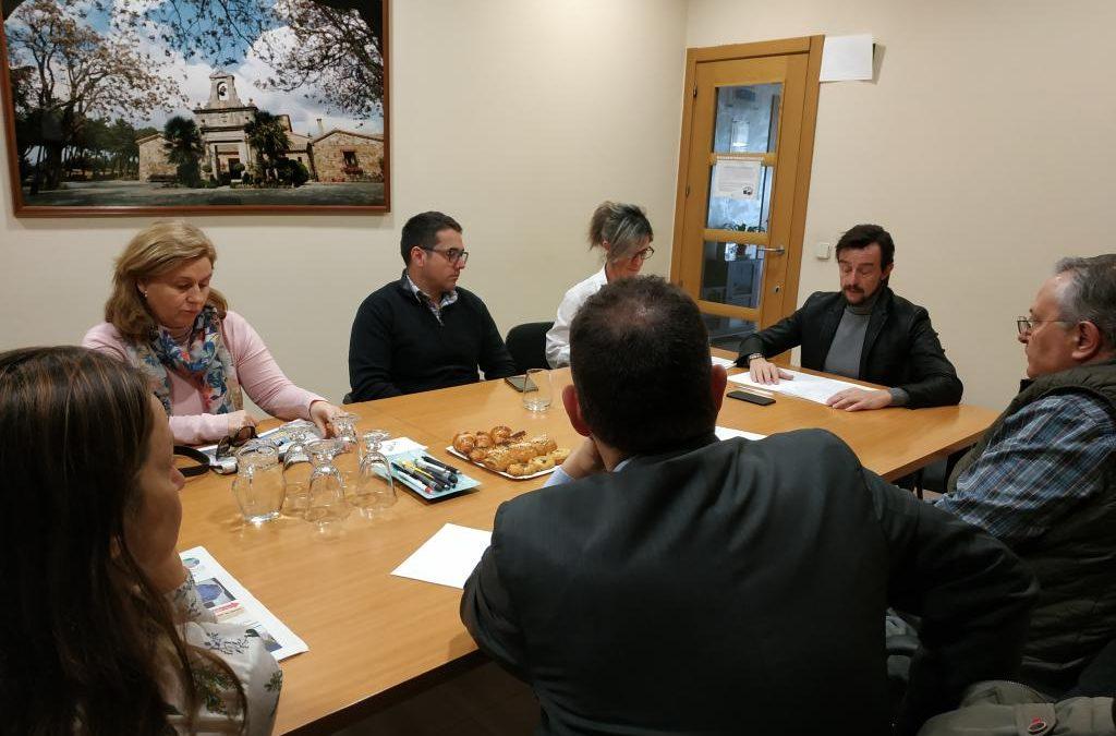 """Aseyacovi se reúne con las inmobiliarias para poner en marcha """"El centro levanta la persiana"""""""