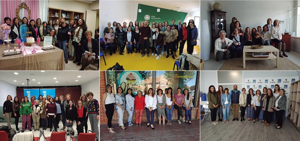 Encuentros de empresarias de Colmenar Viejo del primer semestre de 2019