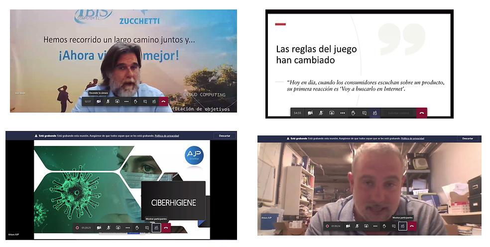 Webinar digitaliza tu negocio de manera segura en tiempos del COVID-19 organizada por Aseyacovi