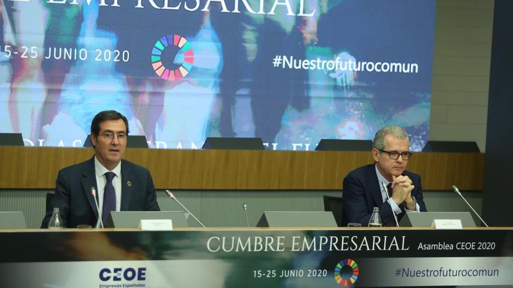 Conclusiones de la cumbre empresarial de la CEOE