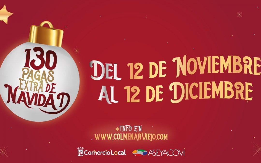 Colmenar Viejo sortea 130 pagas Extra de Navidad de 1.000 euros