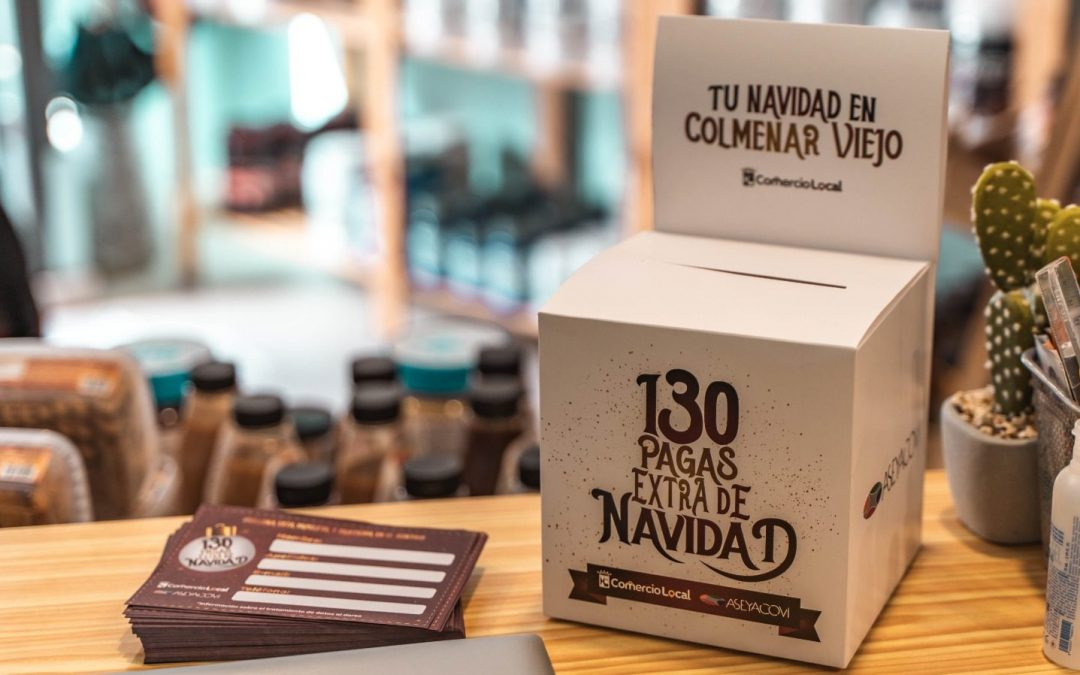 130.000 euros canjeados por premios en el comercio de Colmenar Viejo