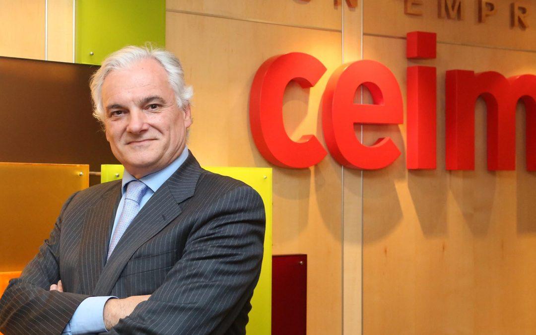Convocatoria del Desayuno de Trabajo con Miguel Garrido, presidente de CEIM